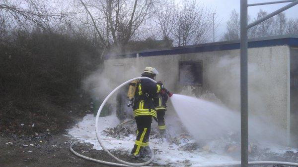 Brandeinsatz vom 02.01.2013  |  (C) FFw Sim (2013)