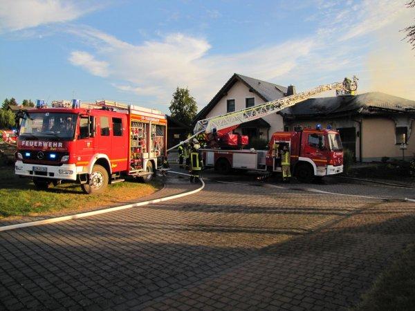 Brandeinsatz vom 11.09.2016     (C) FFw Sim (2016)