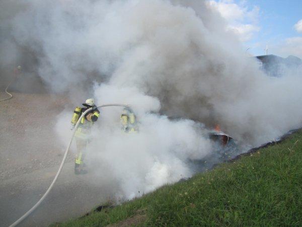 Brandeinsatz vom 27.09.2013  |  (C) FFw Sim (2013)